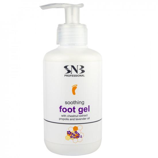 Успокаивающий гель для ног с прополисом и маслом лаванды SNB, 250 мл
