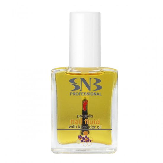 Жидкость для ногтей с прополисом и лавандовым маслом SNB, 15 мл