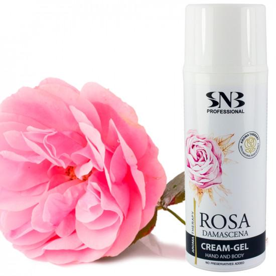 """Крем-гель для рук и тела """"Дамасская роза"""" SNB, 100 мл"""