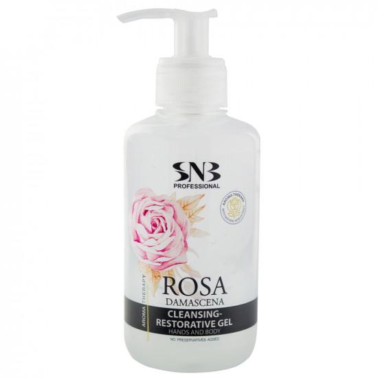 """Гель для рук """"Дамасская роза"""" SNB, 250 мл"""