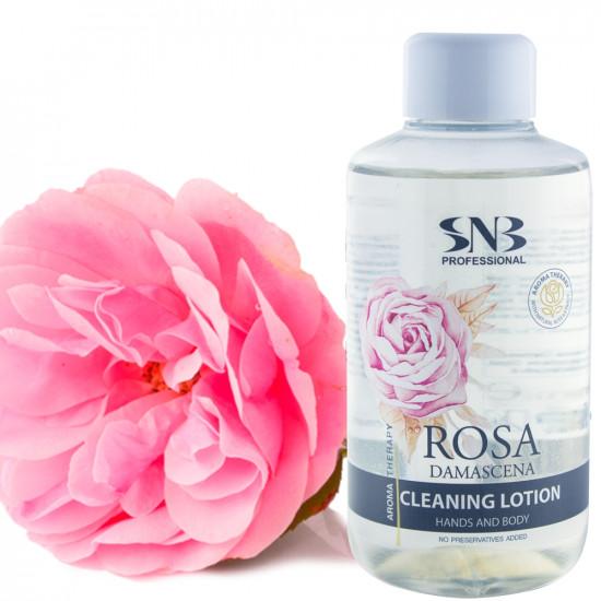 """Очищающий лосьон для рук и ног """"Дамасская роза"""" SNB, 250 мл"""