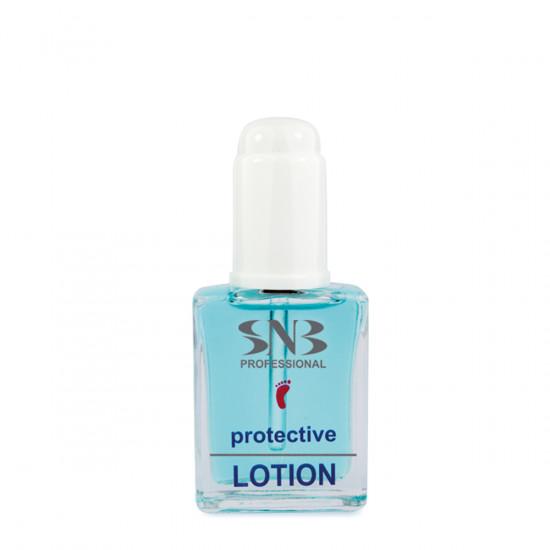 Лосьон защитный с клотримазолом для ногтей SNB, 15 мл