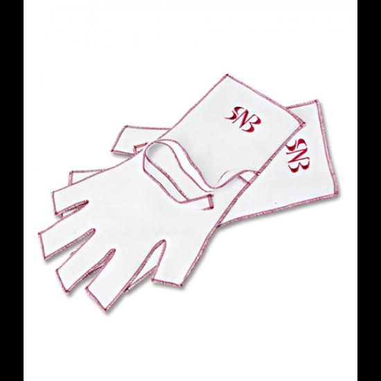 Текстильные перчатки для маникюра SNB